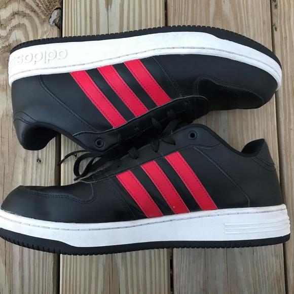 le adidas mens scarpe cloudfoam footbed scarpe nere poshmark